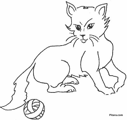 domestic animals coloring pages | Domestic Animals Coloring Pages | Pitara Kids Network