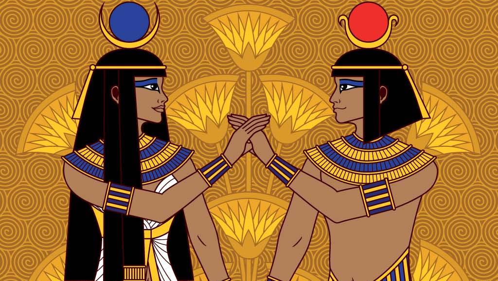 Portrait of an Egyptian couple