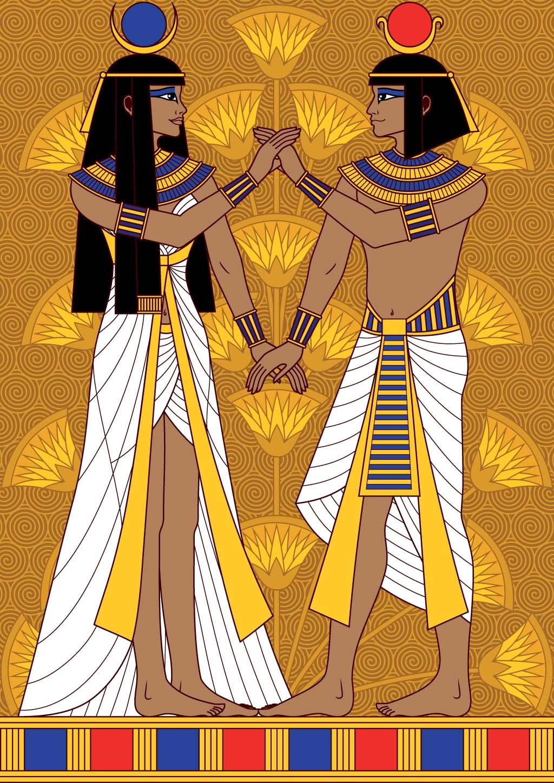 Dress like an Egyptian