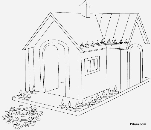 Diwali Coloring Pages For Kids Pitara Kids Network