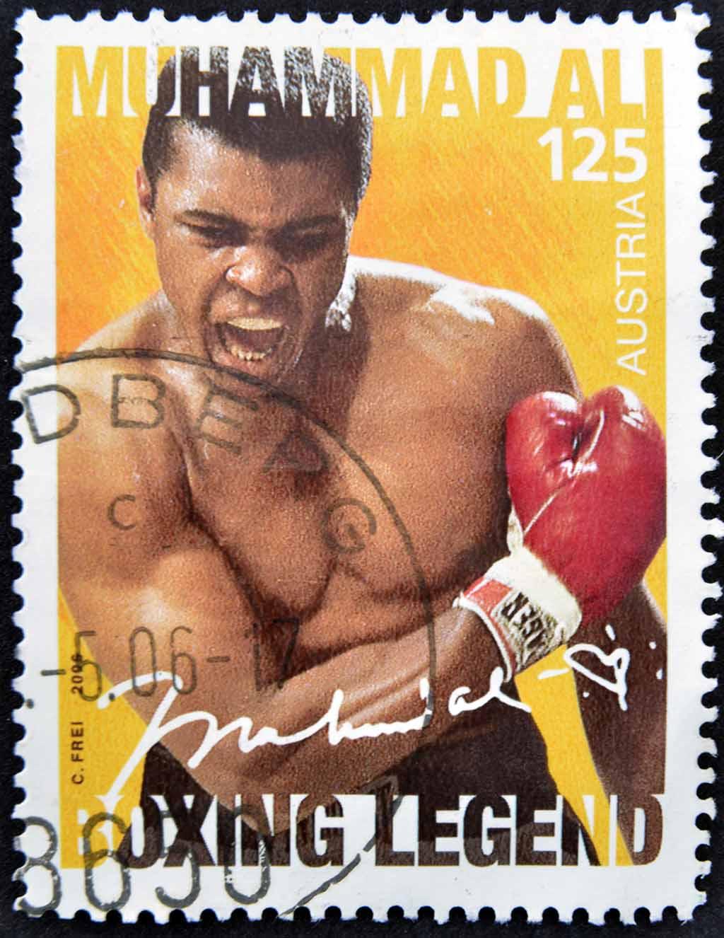 Muhammad Ali (Cassius Marcellus Clay)