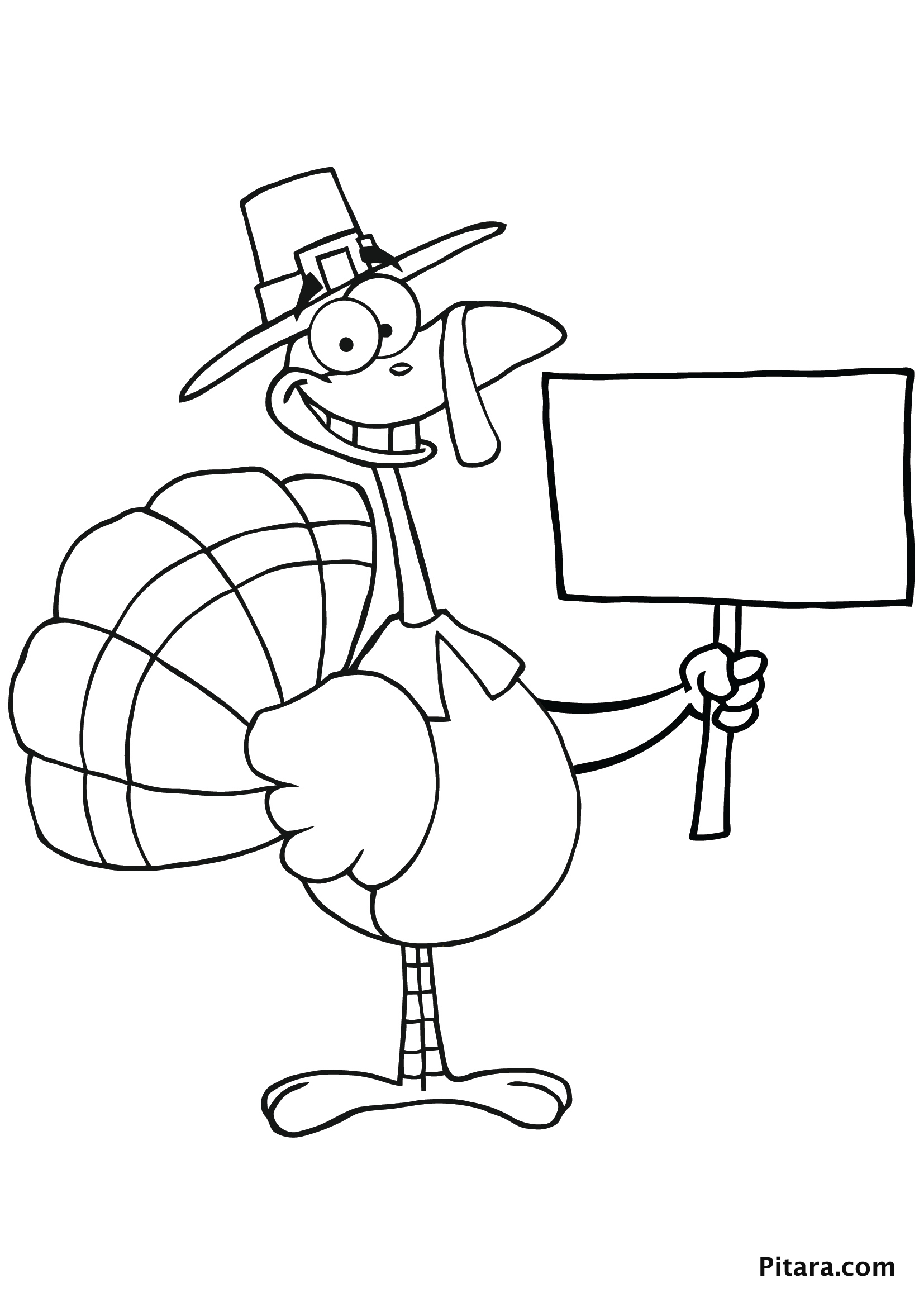 Turkeys Coloring Pages Learny