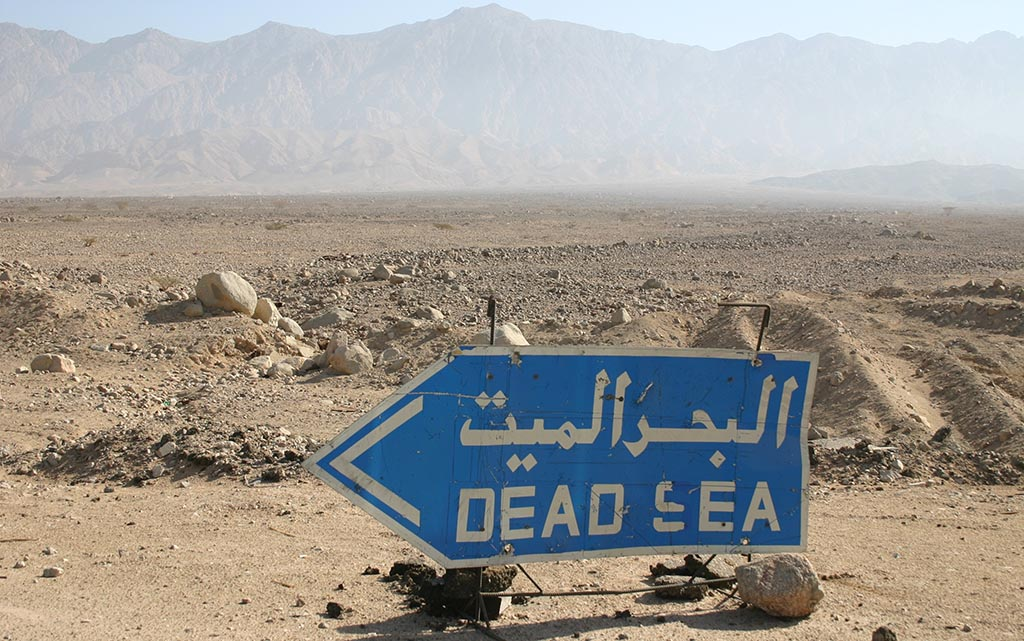 Why is the Dead Sea dead?